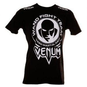 """חולצת Venum """"Wand Fight Team"""" Tshirt - Black"""