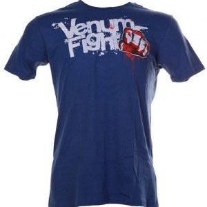 "חולצת Venum ""Striker"" Tshirt Blue"