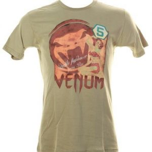 "חולצת Venum ""Pinup 5"" T-shirt - Green"