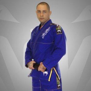 חליפת BJJ GI COMPETITOR - SINGLE WEAVE - BLUE