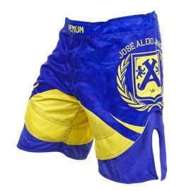 "מכנס לחימה Venum ""José Aldo Junior Signature"" Fightshorts - Blue"