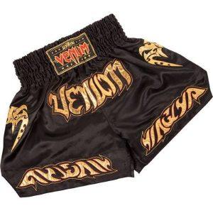 מכנס Venum Tribal Muay Thaï shorts - Black