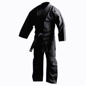 חליפת קראטה שחורה אדידס Adidas k220