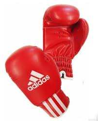 adibk011boxing gloves red whaite