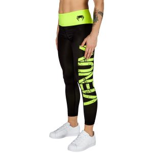 POWER LEGGING שחור צהוב