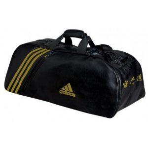 adidas-sport-bag שחור זהב