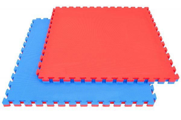 מזרן פאזל אדום כחול 4 סמ