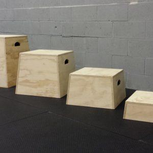 סט מדריגות פליומטריות PLYO BOX עץ